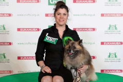Claire and Indy Crufts BOB and Agility G7