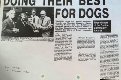 3rd - Canine Community Awards, 1992