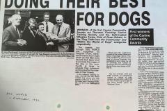 3rd - Canine Community Awards, 1992