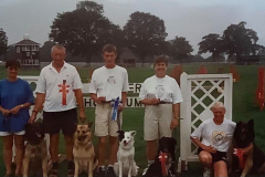 Club members all placed at-3-day-event at Ardingley, 1996