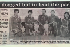 Crufts Team 1990, Oxford Mail