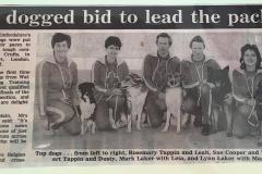 Crufts Team 1990, Oxford Mail