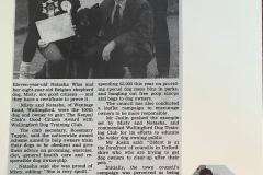 Natasha Wise and Misty - Good Citizens Award, 1992. Wallingford & Didcot Heralds