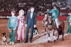 Simon Tappin - Pedigree Chum Novelty Relay,  Royal International  Horse Show at the NEC, 1991