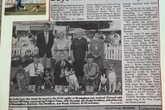 Simon Tappin, 3rd and 6th at the KCJO Agility Finals, 1990