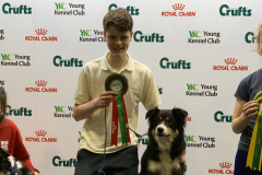 Rory and Sonic - Winner of U18 Agility Crufts 2020
