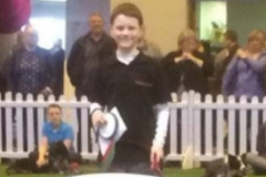 Rory and Ammo - 1st in Crufts Junior 2014