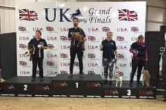 Caroline and Tia - 3rd in Circular Knock Out, UKA Grand Finals 2019